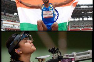 Tokyo Paralympics - Shooter Avani Lekhara and Jumper Praveen Kumar