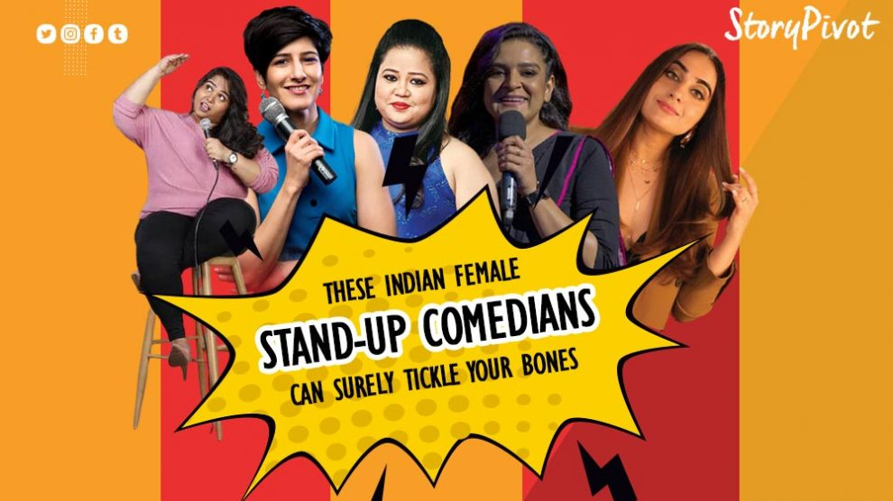 Indian female stand-up comedians