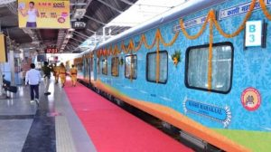 reserved seat on Indian Railways train